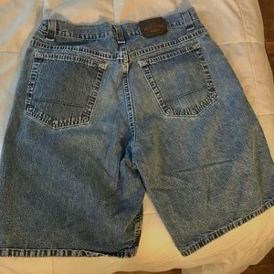 LEE LOOSE DENIM SHORTS